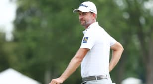 Simpson, Kirk tied for lead at Rocket Mortgage Classic
