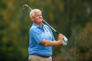 Montgomerie, Clarke, Austin share 36-hole lead at SAS Championship