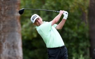 Sutherland, Broadhurst head for Monday finish in playoff at Charles Schwab Cup Championship