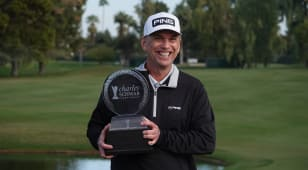 Sutherland wins Charles Schwab Cup Championship on 9th playoff hole