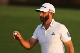 Johnson shoots 65 to take control at Augusta