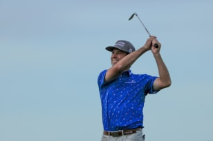 Streb takes three-shot lead into Sunday at The RSM Classic