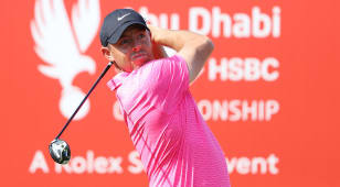 McIlroy starts season-opener in Abu Dhabi with 8-under 64