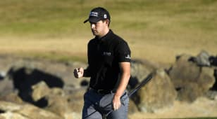 Cantlay shoots 61, comes up one shot shy at The American Express