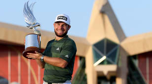 Hatton wins the Abu Dhabi Championship