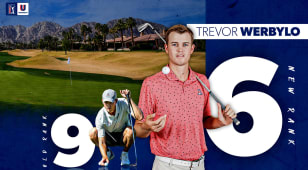 Arizona's Trevor Werbylo moves to No. 6 in PGA TOUR University Ranking
