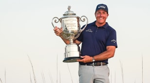 Monday Finish: Phil Mickelson defies father time to win wild PGA Championship