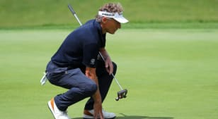 Bernhard Langer shoots 67 at DICK'S Sporting Goods Open with borrowed putter, backup caddie