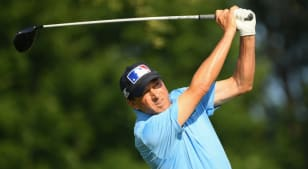 Billy Andrade, Stephen Ames share lead at U.S. Senior Open Championship