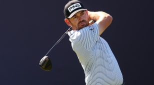 Louis Oosthuizen takes one-shot lead into Sunday at The Open Championship