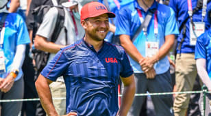 Xander Schauffele wins gold medal with clutch finish at The Olympics