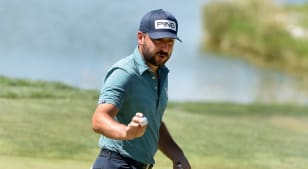 Stephan Jaeger takes outright lead with 90-foot birdie putt at Pinnacle Bank Championship presented by Aetna