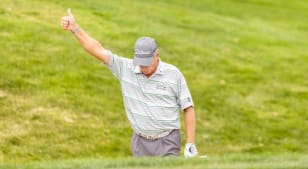 Woody Austin leads by one shot at Boeing Classic