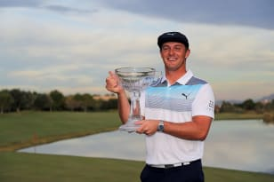 Late eagle lands DeChambeau another title