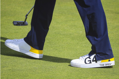 fedd297553125 The Nike players weren t the only ones sporting special shoes this week.  Bubba