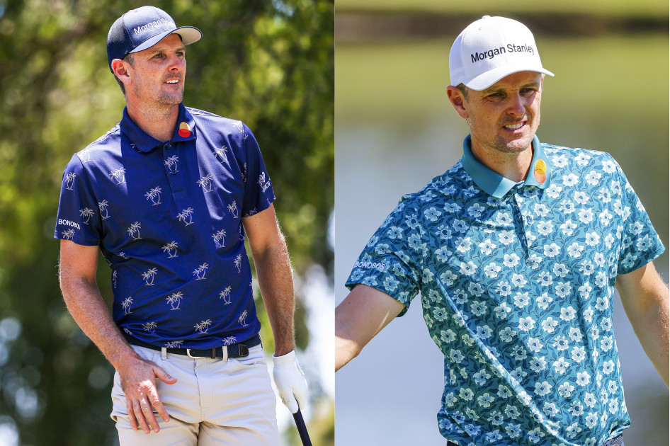 In case you forgot about the biggest fairway fashion trends during the break, Justin Rose reminded us that prints are all the rage. Rose teed it up in two summery prints over the weekend. Both would make for stylish last-minute Father's Day gifts. Hint, hint.