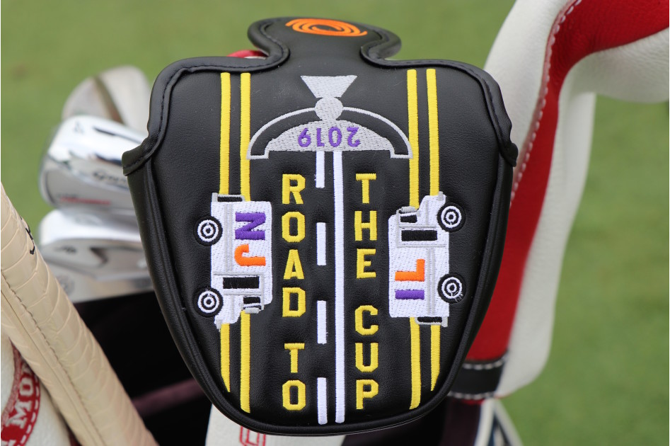 Odyssey's custom putter covers made for the FedExCup Playoffs highlight FedEx trucks traveling from New Jersey to Illinois -- the same road the 30 TOUR Championship finalists will make over the next few weeks.