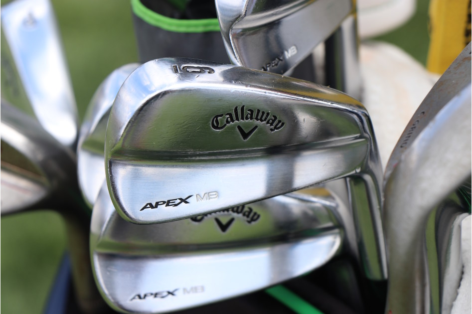 Francesco Molinari's ultra-custom Apex MB irons that he's been using throughout 2019.