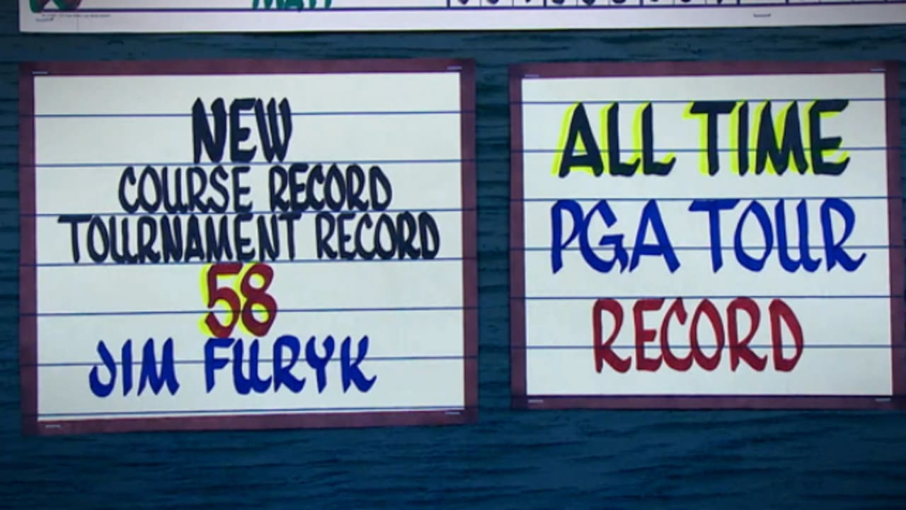 Looking back: Jim Furyk's record 58