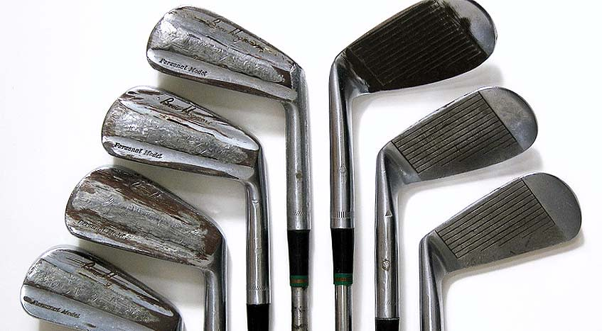 Hogan's '53 iron set is up for auction