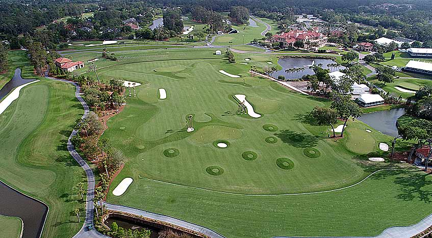 New Practice Facility At Tpc Sawgrass