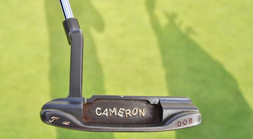 Jordan spieth scotty cameron putter