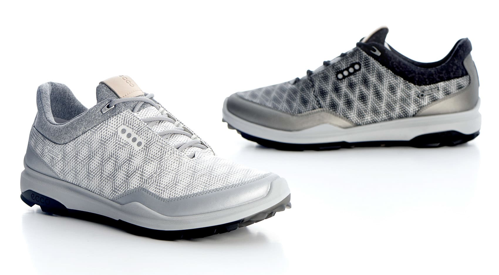ECCO's redesigned BIOM Hybrid 3 spikeless shoes offer better performance  and a bolder look. (Photos courtesy of ECCO)