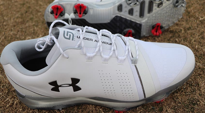 Under Armour's new Spieth 3 golf shoes