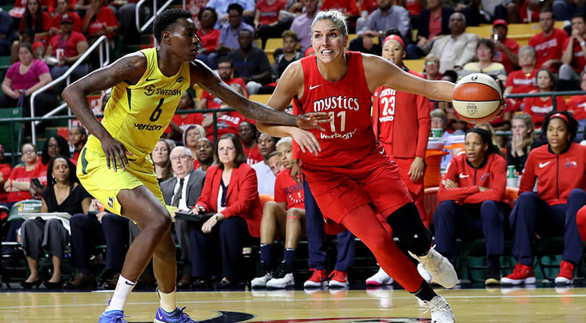 2018 WNBA Elena Delle Donne Autograph Legends of the Game