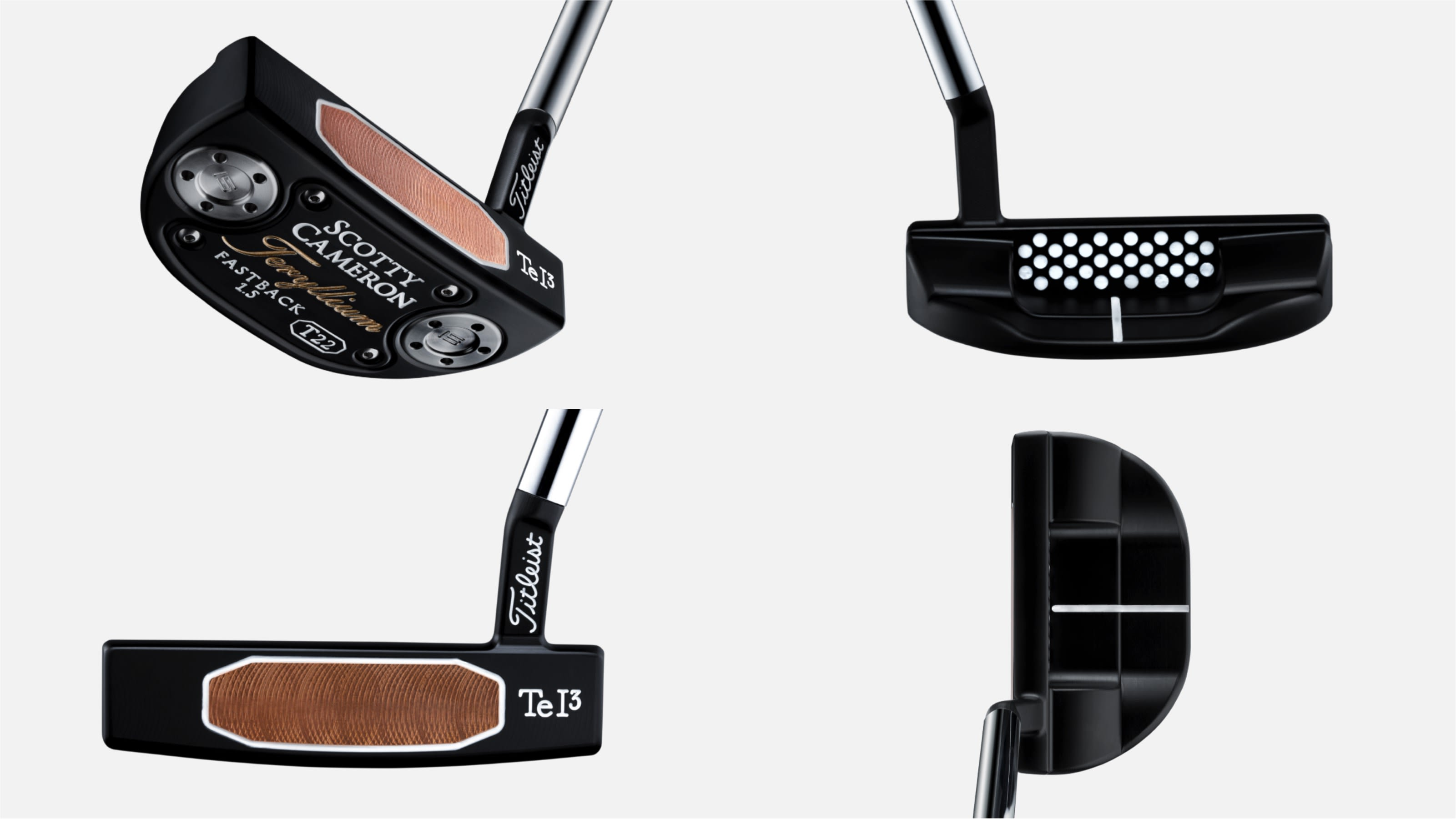 Scotty Cameron's new 2019 Teryllium T22 putters